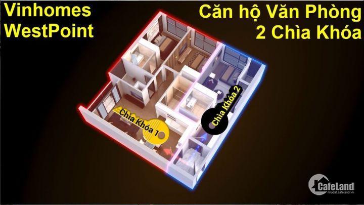 Mua nhà chỉ với 330 triệu tại Vinhomes West Point W1 Đỗ Đức Dục, Nam Từ Liêm
