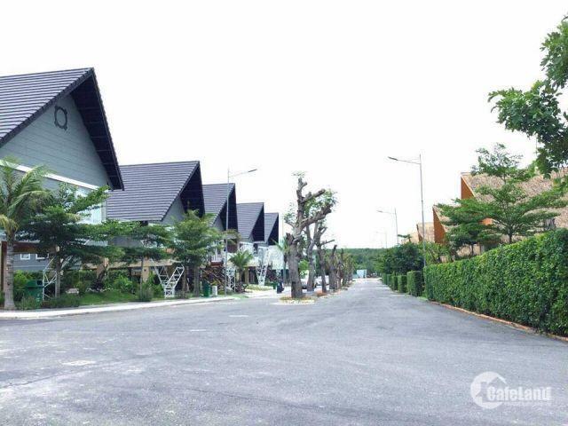 Hòa mình vào thiên nhiên sở hữu biệt thự nghỉ dưỡng kiểu Thái cạnh suối nước nóng Bình Châu