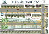 Mở bán dự án Mặt tiền đường Bến Than, Đối diện chợ Hòa Phú lh: 0908.135.966