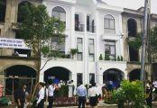 Bán nhà phố Long Phú Villa, thị trấn Bến Lức, MT Ql 1A, 100m2, CK 5%