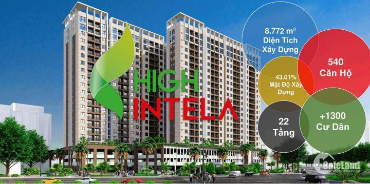 Căn hộ cao cấp High Intela thông minh đầy đủ tiện ích nội khu giá 1 tỷ 6