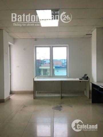 Hot! Cho thuê văn phòng giá rẻ nhất khu vực Cầu Giấy, cửa sổ view thoáng, ban công hướng Đông Nam, ô tô đỗ cửa giá chỉ 10tr