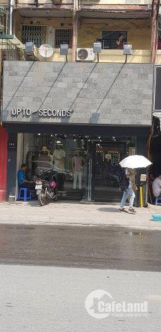 Cho thuê cửa hàng mặt phố Hàng Đường 110m2, mặt tiền 5.5m