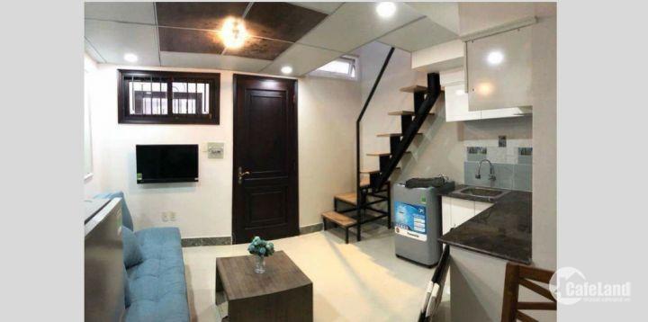 Gấp!! cho thuê căn hộ mini cao cấp có Gác full nội thất kiểu Hàn, chỉ duy nhất Q4 và Q7,HCM