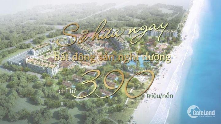 """Bán đất khu đô thị mới """" Seaway Bình Châu"""" thổ cư 100% chỉ 390tr/nền"""