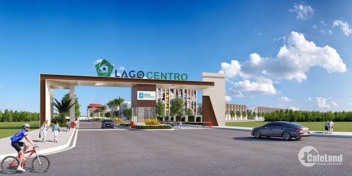 Đất nền sổ đỏ Lago Centro mặt tiền tỉnh lộ 830 triển khai giai đoạn 1