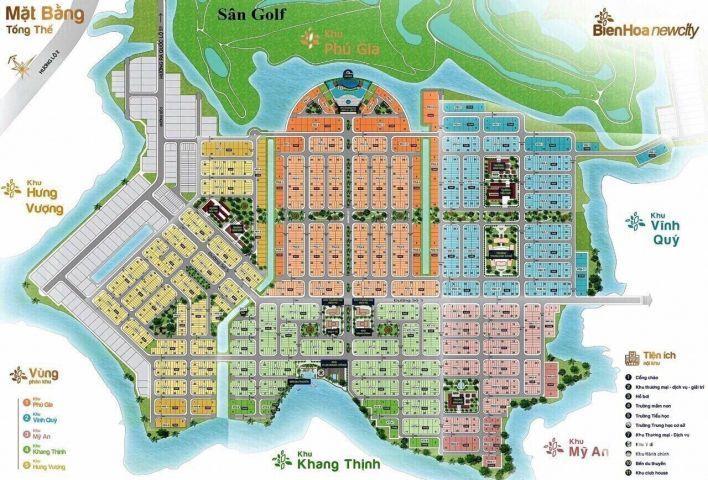 3 nền nội bộ khu Khang Thịnh giá 1ty4/nền ngay TTTM - Biên Hoà new city . LH 0933655811