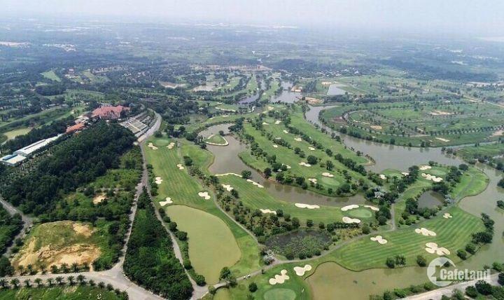 Đất nền sổ đỏ sân Golf Long Thành - Biên Hòa New City