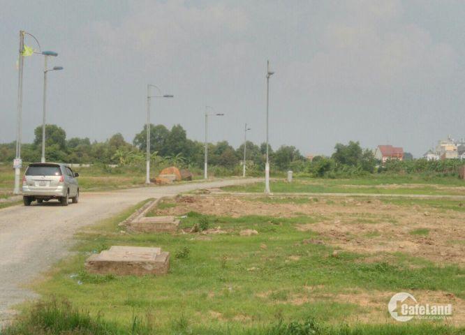 Bán đất mặt tiền Nguyễn Thị Tồn, TP.Biên Hòa, gần cầu Hóa An.