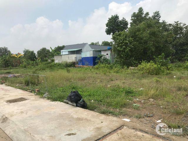 lô đất sau chợ Bình Chánh gần khu công nghiệp cầu tràm