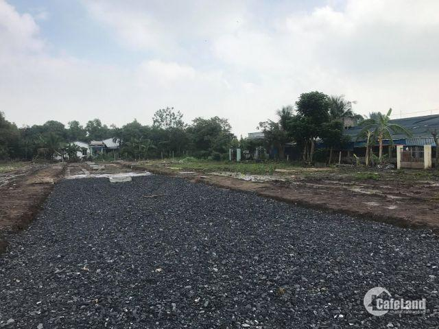 lô đất sau chợ Bình Chánh, XDTD, SHR 100m2