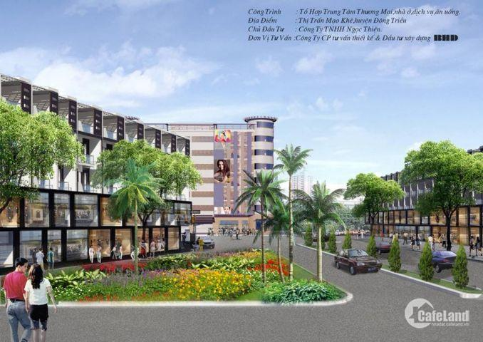 Bán đất nền dự án Đông Dương Green tại Mạo Khê - Quảng Ninh