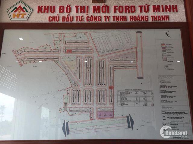 Mở bán đợt 2 đất nền dự án Ford Tứ Minh TP Hải Dương