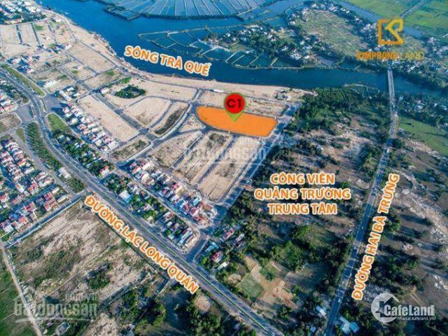 Đất Đã Có Sổ . View Sông Trà Quế