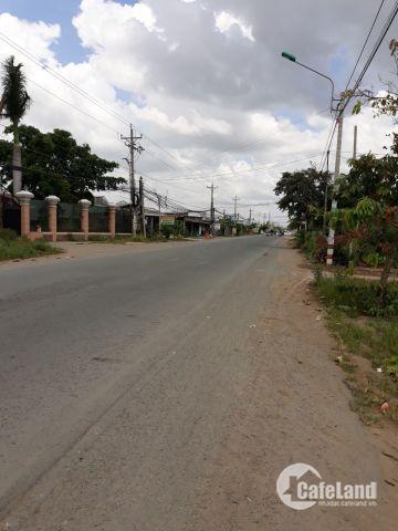 bán đất gần chợ nằm ngay mặt tiền đường