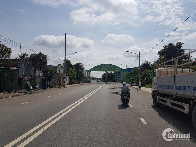 Cần bán các lô đất mặt tiền Quốc lộ 50, Bình Chánh.