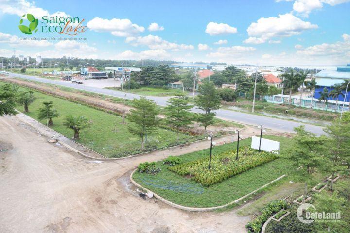 Đầu tư đúng chỗ với đất nền Tây Bắc,Saigon Ecolake giá 6,5tr/m2