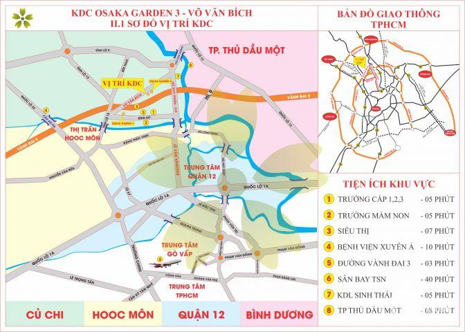 Chủ đầu tư Nhất Nam mở bán đất nền sổ đỏ Osaka Garden khu Đô Thị mới, tuyến đường huyết mạch của Huyện Cửu Chi - GIÁ ĐẦU TƯ F1 10,9tr/m2