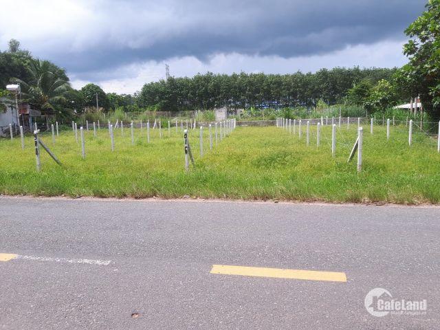 Đất thổ sổ đỏ chính chủ mặt tiền đường TT Thị trấn Củ Chi