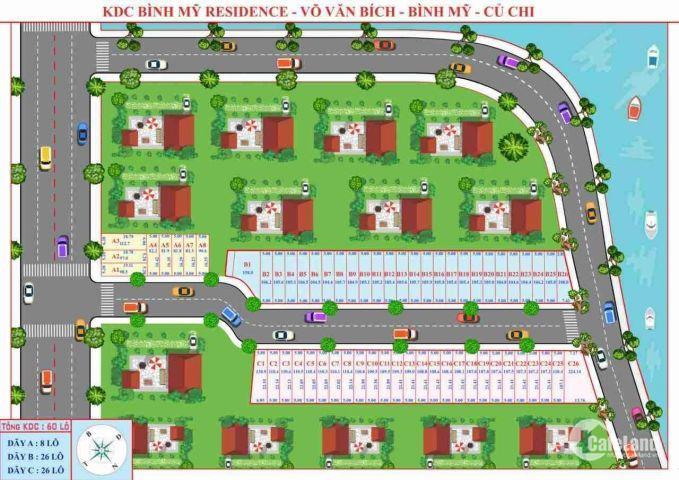 Bán đất Bình Mỹ, Củ Chi tiếp giáp Quận 12, nằm trên trục đường Vành Đai 3, LH: 0936021826