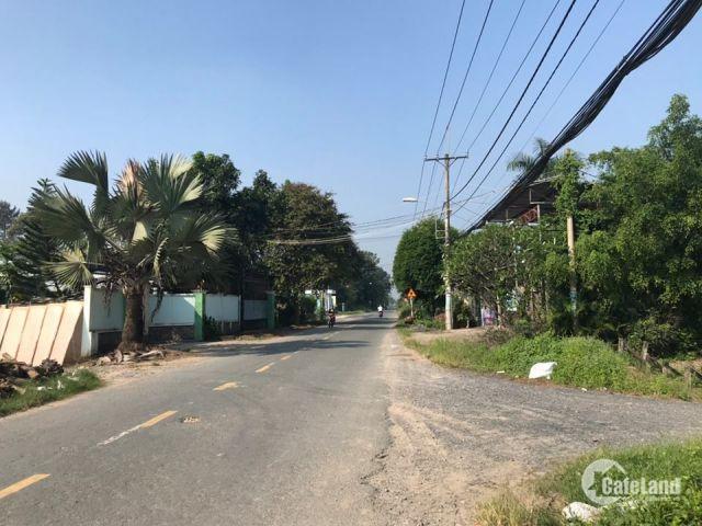 Đất nền gần chợ Phú Hòa Đông, Củ Chi, giá chỉ từ 800tr/lô 90m2. Sinh lời ngay, thổ cư 100%