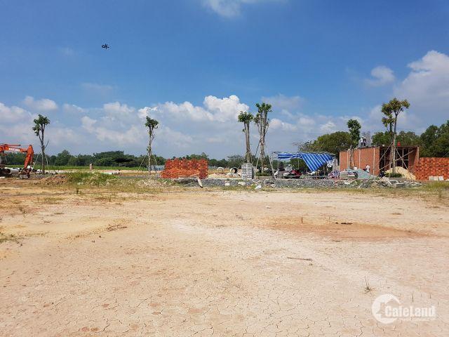 Bán đất ngay thị trấn Củ Chi, sổ hồng riêng. 300tr sở hữu nền.
