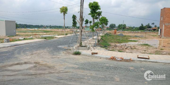 Bán đất tại đường Đặng Thúc Vịnh, Đông Thạnh, Shr, Xdtd, LH 0775848169 Mr Bảo