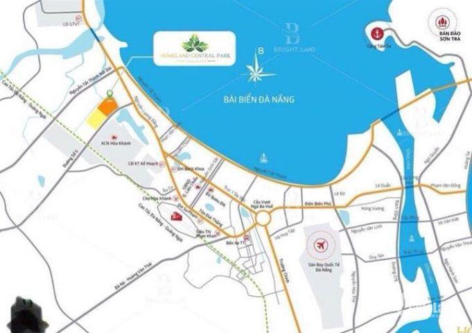 Đất dự án Homeland cental park, diện tích 120m2