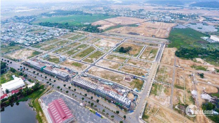 Bán 100m2 đất mặt tiền gần đường Số 5, đối diện khu công nghiệp Hòa Khánh