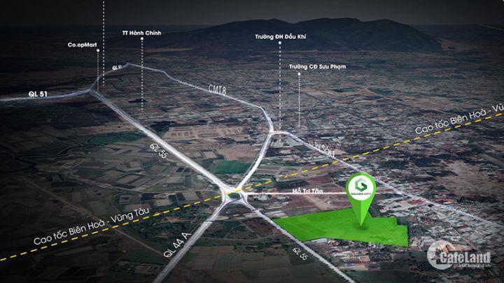 Đất nền sổ đỏ ngay TTHC tỉnh Ba Rịa-Vũng Tàu giá  chỉ 11tr - 0918257070
