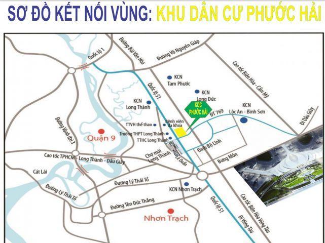Mở bán KDC Phước Hải giá chủ đầu tư,sổ hồng riêng,bao GPXD