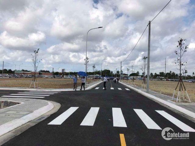 Ngân hàng thanh lí 5 lô đất liền kề đường Nguyễn Thị Định đường số 44, 20m, thổ cư 100%, SHR