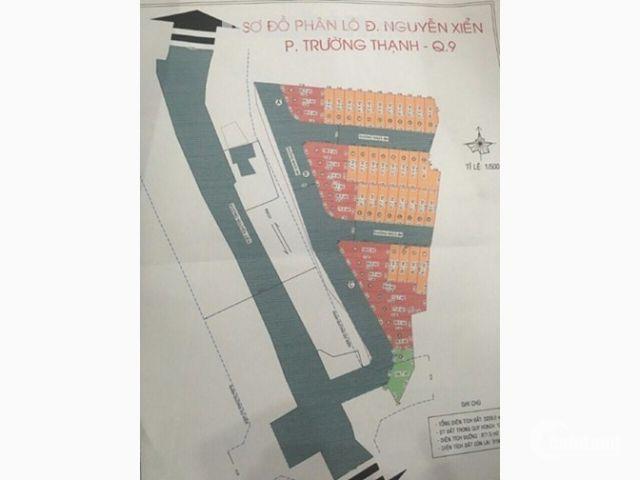Bán lô đất nền đường Nguyễn Xiển, Quận 9, SHR, cách dự án Vincity chỉ 50m, giá rẻ mua ở/đầu tư
