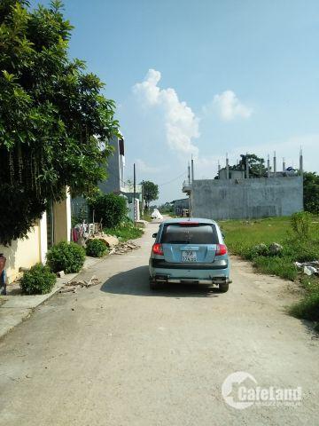 Bán đất 78m2 đấu giá ở xã Ngọc Liệp, huyện Quốc Oai, Hà Nội giá 7tr/m2