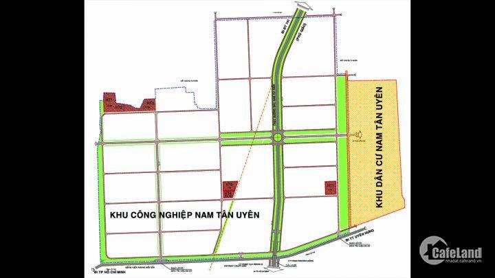 Khu dân cư Nam Tân Uyên, đường ĐT746, phường Khánh Bình. Giá gốc CĐT, LH 0973004579