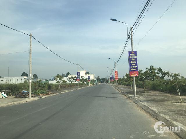 Chính chủ cần bán lại lô đất ngay trung tâm thị trấn Thủ Thừa ,Long an giá 650tr