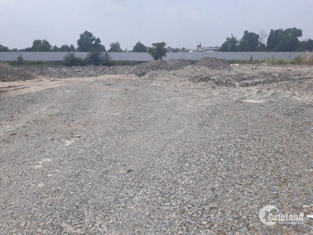 Bán đất công nghiệp Trí Quả Hà Mãn, Thuận Thành Bắc Ninh 5080m2 đã đổ bây, có tường bao