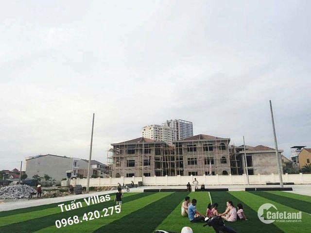 Đất biệt thự khu đô thị Nam Lê Lợi: Sổ Lâu Dài, Trung tâm TP Vinh