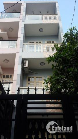 Cần tiền bán gấp nhà mới đẹp, đường D1, Q.BT. 4,5x11m. T,3L. Giá 7,9 tỷ TL