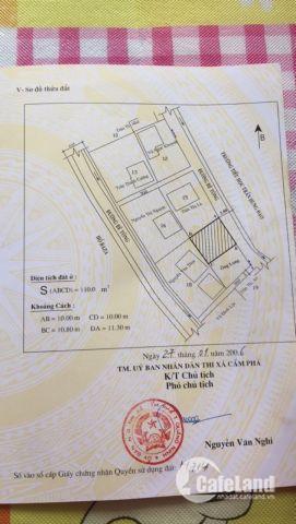 Cần bán khu đất 110m2 có nhà cấp 4