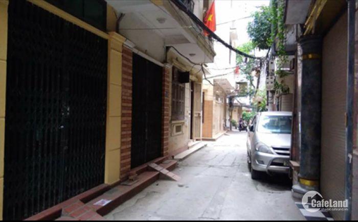 Bán nhà gara ôtô đoạn Phùng Chí Kiên, 7,3 tỷ.