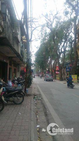 Bán Nhà Mặt Phố Nguyễn Phong sắc.Cầu giấy.Vị trí đẹp Cách ngã tư cầu giấy 100m Kinh doanh tuyệt vời.