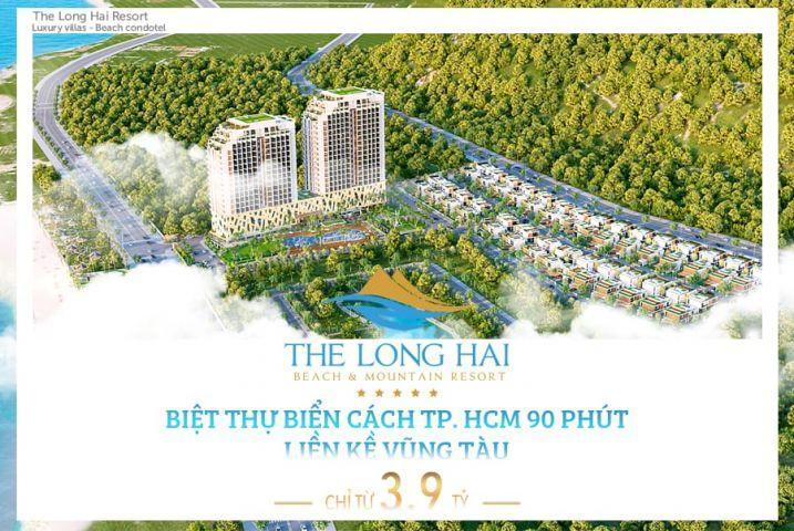 Cơ hội sở hữu Villas Mặt Tiền Biển Long Hải vĩnh viễn