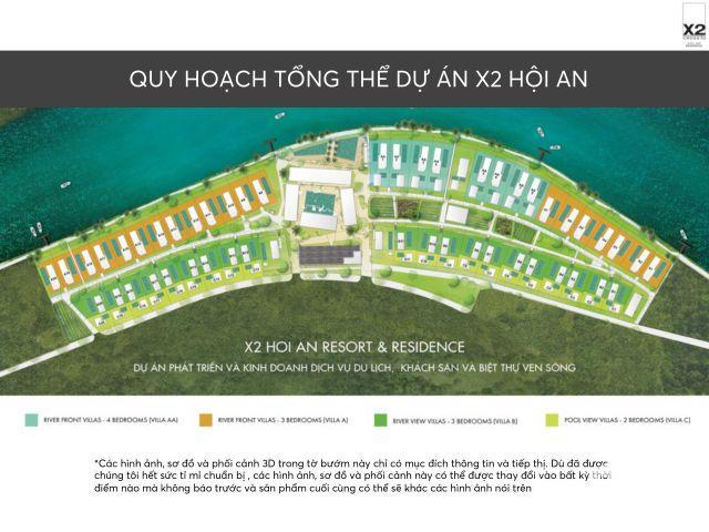 Đầu tư Biệt thự nghỉ dưỡng X2 Hội an