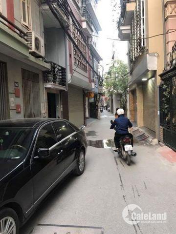 Bán nhà đẹp lô góc, ngõ ôtô phố Thái Hà giá 5,8 tỷ.