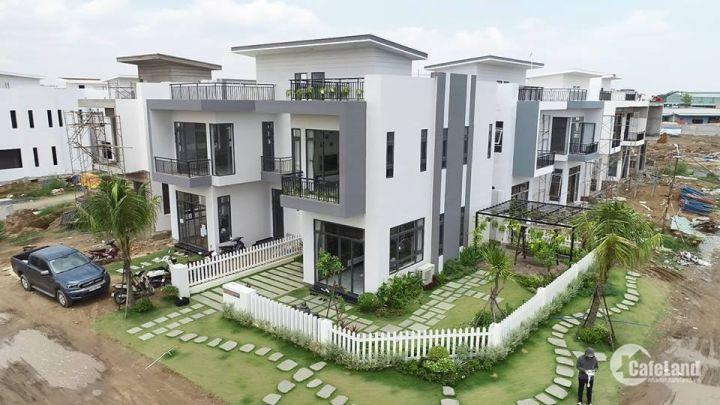 Nhà Phố Bella Villa 120m2 nằm ngay trục đường chính TỈnh lộ 824