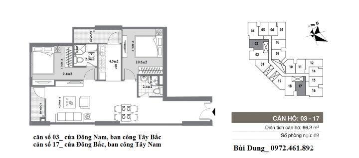 Độc quyền tầng 8,11,16,21 và 23 giá hot nhất dự án Mipec City View Hà Đông, chỉ từ 970tr