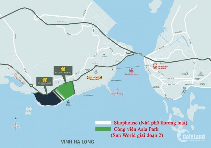 Bán 2 căn Biệt Thự TH7-20 TH7-22 mặt biển cuối cùng tại Trung tâm du lịch Hạ Long