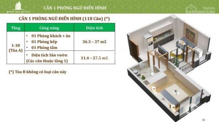 Chung cư Green Bay Garden Hạ Long hỗ trợ vay 70% + Chiết khấu 12% + 2năm miễn phí dịch vụ 0936044990