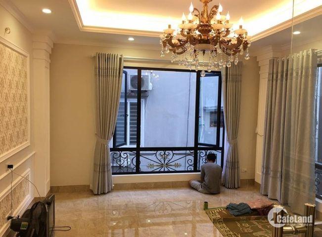 Bán nhà sát phố Kim Ngưu, Ô tô tránh, Kinh doanh VP, 44m2, giá 6.4 tỷ.